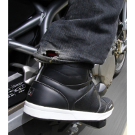 Basket moto et bottines moto