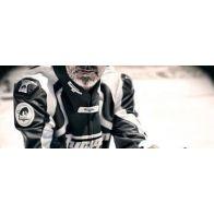 Blouson Cuir Moto Homme