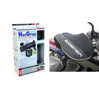 Poignées Chauffantes et manchons Moto